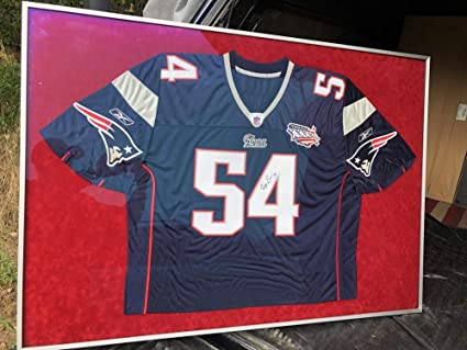 Amazon.com: Teddy Bruschi New England Patriots Super Bowl XXXVI 36 ...