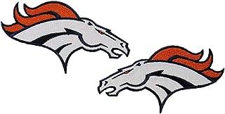 Denver Broncos Right & Left Side Logo Patches 4 1/2