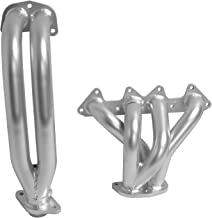 DC Sports HHC5011 4-2-1 Header with Ceramic Coating (2 Piece), Silver