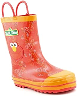 Sesame Street Elmo SEF500 Rain Boot (Toddler/Little Kid)
