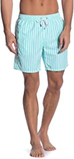 Men's Swim Trunks w/Mesh Lining - Quick Dry Bathing Suit with Pockets - 7.5