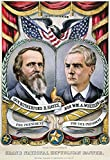 Presidential Campaign 1876 NGrand National Republican Banner Rutherford B Hayes And William A Wheeler As The 1876 Republican Candidates For President And Vice President On A Lithograph Campaign Poster