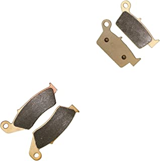 CNBK Sintering Brake Shoe Pads Set fit for SUZUKI Dirt Bike DR-Z400 DRZ DR-Z 400 cc 400cc SMK5 2005 2006 2007 2008 2009 05 06 07 08 09 4 Pads