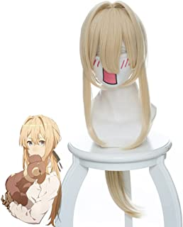 Violet Evergarden Anime Violet Evergarden Cosplay Wig Horsetail Cosplay Costume Hair
