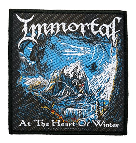Immortal Aufnäher - At The Heart Of Winter Patch - Gewebt & Lizenziert !!