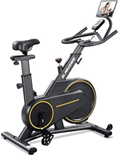 MaxKare Exercise Bike Stationary Magnetic Indoor Cycling Bike Belt Drive for Home with 35lbs Flywheel/Adjustable Magnetic Resistance//LCD Monitor for Women & Men