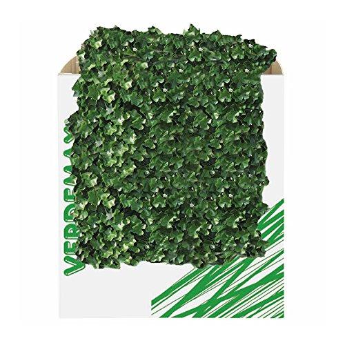 Verdemax 5600 50 x 50 cm Verdecor haie avec Feuilles comme géranium