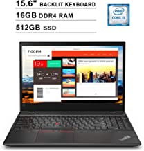 2019 Lenovo ThinkPad T580 15.6 Inch FHD 1080P Laptop (8th Gen Inter 4-Core i5-8250U up to 3.4GHz, 16GB DDR4 RAM, 512GB SSD, Intel UHD Graphics 620, Backlit KB, WiFi, Bluetooth, HDMI, Windows 10 Pro)
