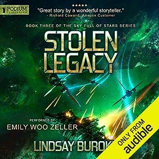 Stolen Legacy audiobook cover art