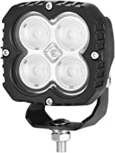 Lightfox 4inch Heavy Duty LED Work Lamp Flood Beam Industrial Light 3 Years Warranty