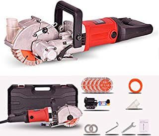 TOPNCES 4000W Multifunction Wall Groove Cutting Machine Wall Chaser Machine for Brick & Granite Marble 220V (Wall Slot Slotting Machine)