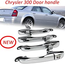 Door Handle(1set)- Front & Rear Driver & Passenger Side, For Chrysler 300/300C 2005-2010 CH1310142 (4589009AH&5065800AE&5065801AE)