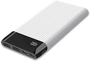 Dexim Sy15 Led Ekranlı Hızlı 10.000Mah Powerbank, Beyaz