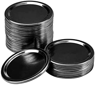 70MM 18 Pcs Regular Mouth Canning Lids, Lids for Mason Jar Canning Lids ,Split-Type Lids Leak Proof and Secure Canning Jar...