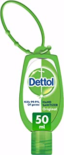 Dettol Original Anti-Bacterial Hand Sanitizer 50ml With Jacket
