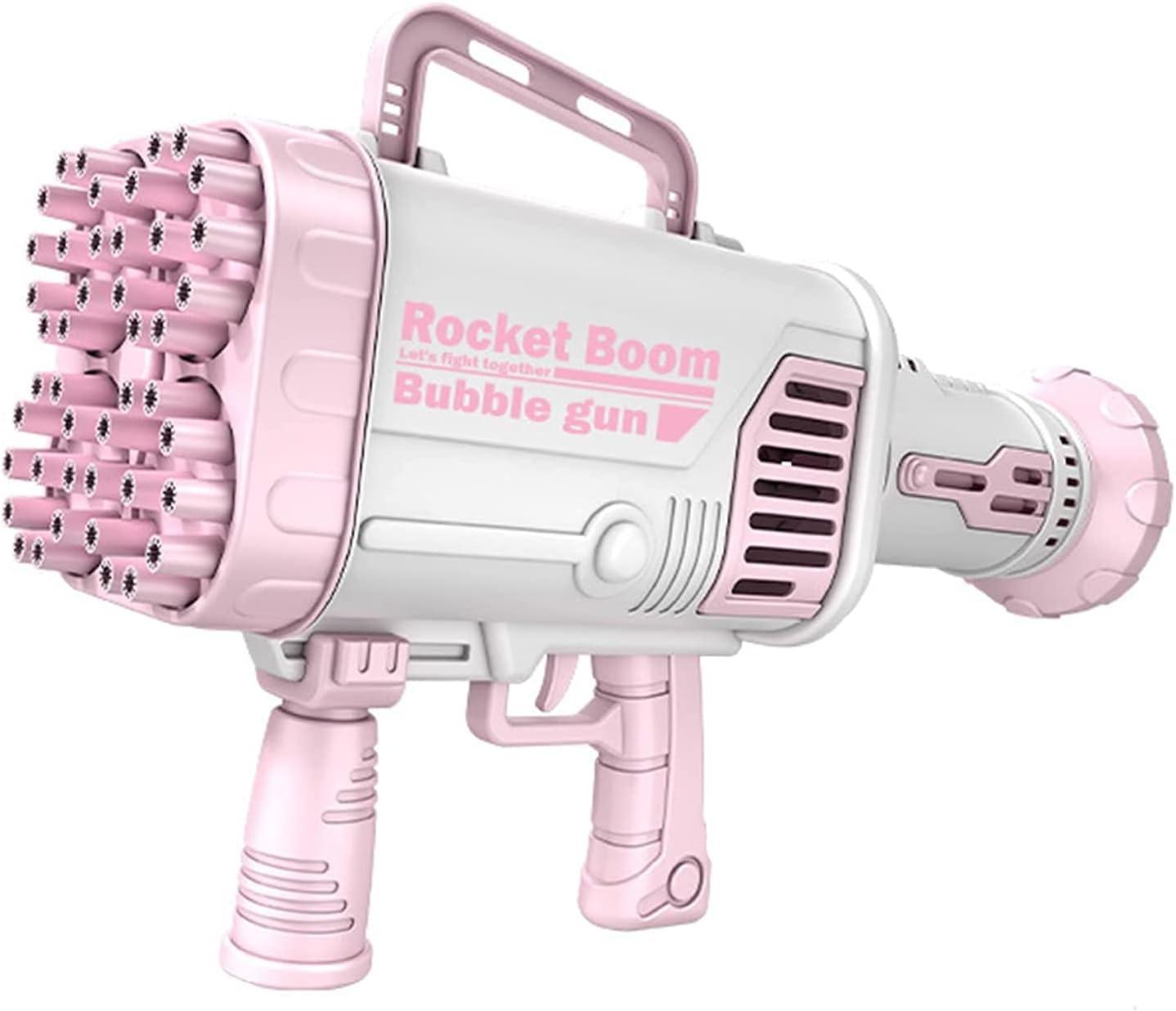 44-Hole Rocket Launcher Shape Bubble Maker, Bubble Machine for T