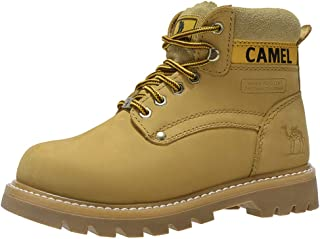 Women Work Boots Genuine Leather 6