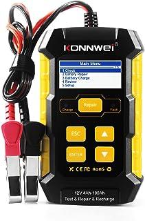 Testador de bateria de carro, KKmoon KW510 Testador de bateria de carro Multifuncional Reparo de pulso Carregadores de bat...