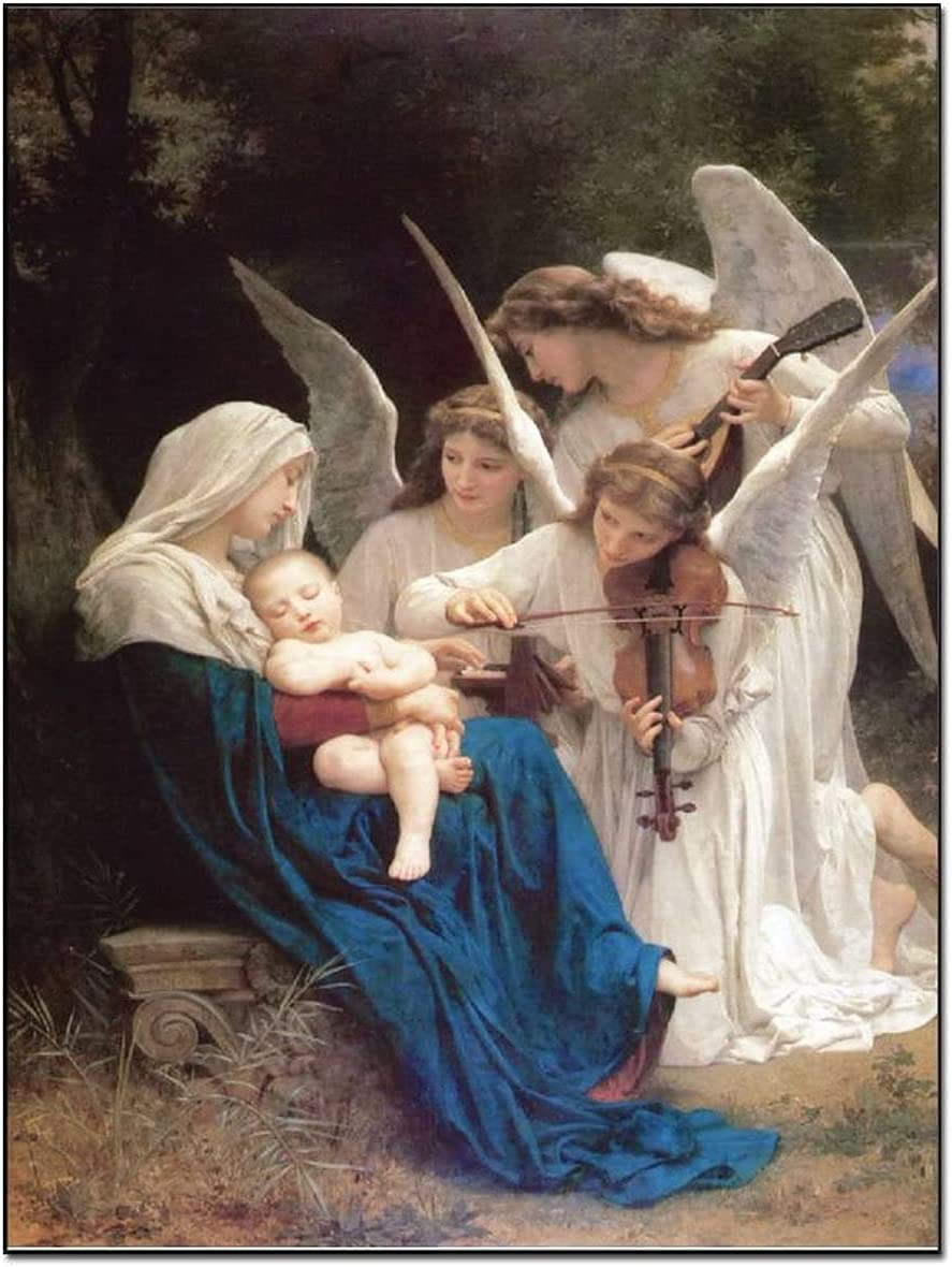 French Max 90% OFF New Classic Famous Painting Adolphe Bouguereau William NEW before selling An