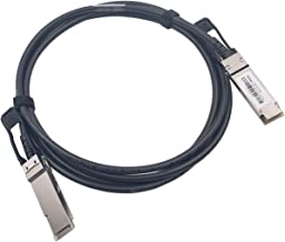 Sponsored Ad - 2M QSFP+ DAC Twinax Cable, Wiitek 40GbE QSFP+ Direct Attached Copper Cable, 30AWG Black, for Arista CAB-Q-Q...