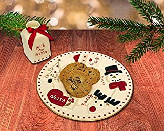 FAO Schwarz Santa Milk and Cookie Set (2 PIECES)