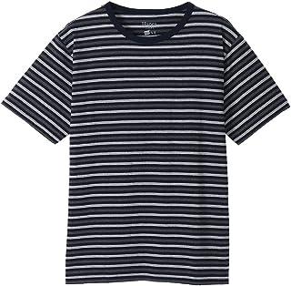 (へインズ) Hanes COLORS カラーズ クルーネック ボーダー Tシャツ カットソー ショートスリーブ 8色 メンズ レディース HM1-P101BORDER