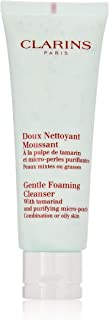 Clarins Gentle Foaming Cleanser With Tamarind & Purifying M-P Combination Or Oily Skin 4.4 Oz