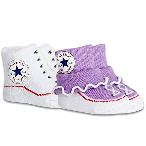 d029a08709d5 Converse Chuck Taylor All Star Frilly Baby Sock Booties (2 Pack) - 0-