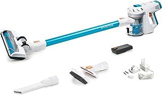 Genius Invictus X7 - Aspirador sin Bolsa con bater?a (13 Piezas) y Aspirador inal?mbrico 2 en 1 con Potencia de aspiraci?n de 380 W y Luces LED de Foco integradas, bater?a de Iones de Litio (30 min)