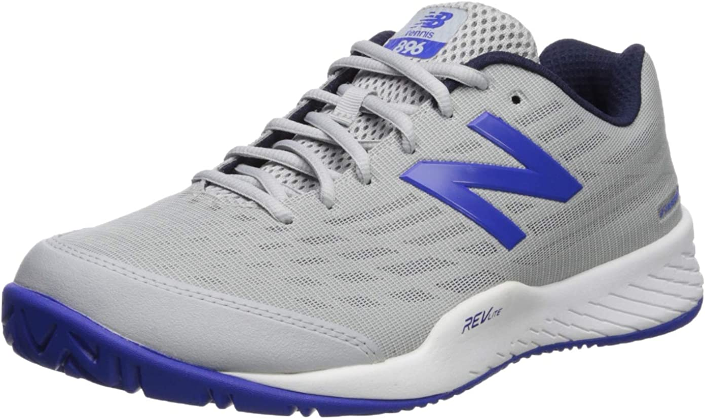 Amazon.com | New Balance Men's 896 V2 Hard Court Tennis Shoe ...