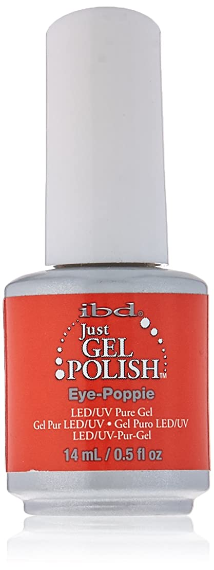 地上の許されるそれにもかかわらずIBD Just Gel Polish - Eye-Poppie - 0.5oz / 14ml