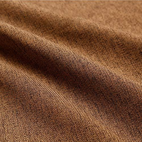 PeiQiH Outdoor Indoor Settee Kissen Schaumstoff & Slip Cover,Anpassbare Bank Kissen Mit Hook & Loop,Rechteck Bank Kissen Kaffee Farbe 100x30x2cm(39.4x11.8x0.8inch)