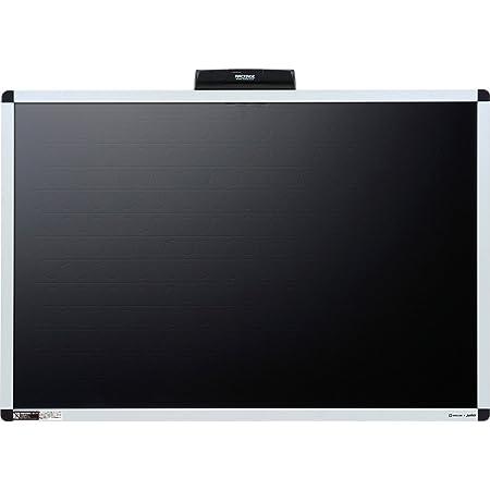 キングジム 電子吸着ボード ラッケージ 壁掛けタイプ 850×550 RK9060クロ