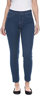 Jeans Pull On Ankle Pant