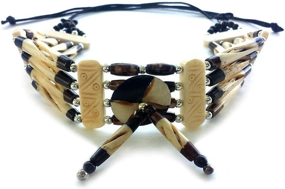 Local Bead Shop Handmade 4 Fees Detroit Mall free Traditiona Buffalo Hairpipe Bone Line