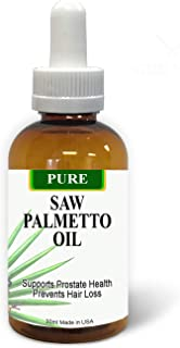 Pure Saw Palmetto Berries Oil 30ml Organic & Natural 60-90-day Supply Unlike Inefficient Powders, Supports Prostate Health...