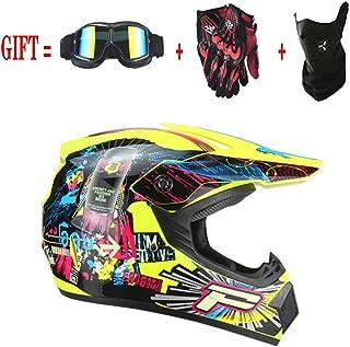 Losenlli 4 Seasons Casco de cross-country Casco de motocross Bicicleta de monta/ña Casco de cara completa Downhill Ghost Claw Casco multicolor