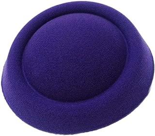 MOPOLIS New Fascinator Base Felt Like Pillbox Hat DIY Material Make Supplies Wholesale | Color - C