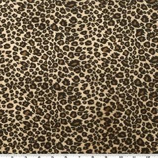Shannon Fabrics Shannon Minky Cuddle Cheetah Tan/Brown Fabric By The Yard