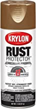 Krylon K06930100 Rust Protector Metallic Paint, Antique Brass