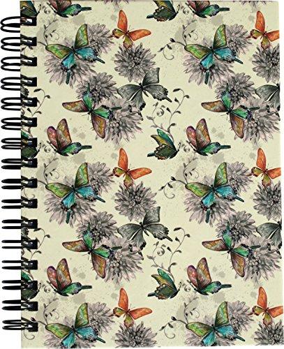 "RNK 46507 Notizbuch, DIN A6 mit Register A-Z, \""Butterflies\"""