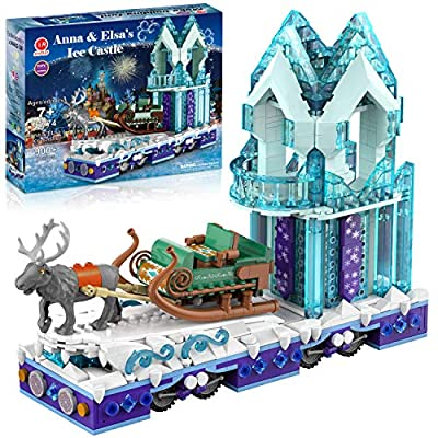 Amazon - Save 70%: Frozen Toys Compatible with Lego Magical Ice Castle Building Kit Play Sets Frie…