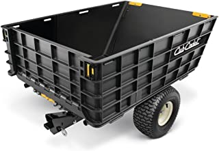 Cub Cadet Hauler 10 cu. ft. Tow-Behind Dump Cart For Riding and Zero Turn Mowers