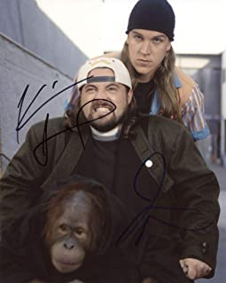 KEVIN SMITH & JASON MEWES - Clerks AUTOGRAPHS Signed 8x10 Photo