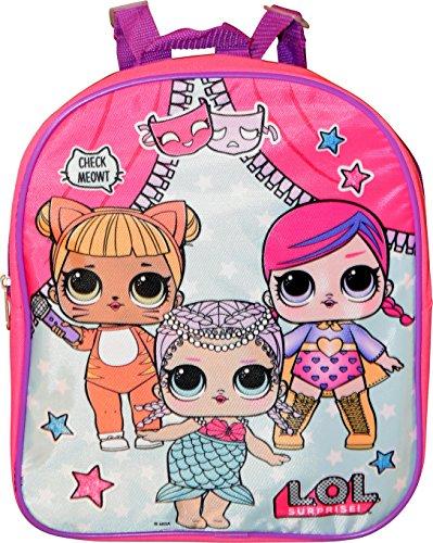 L.O.L Surprise! Girl's 12' Backpack School Bag
