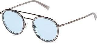نظارات شمسية من تيمبرلاند للرحال TB918920D51 - لون رمادي/ ودخاني معدني مستقطب