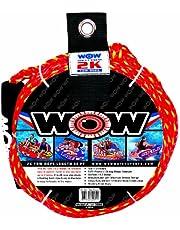 Wow World of Watersports Cuerdas de Remolque, Boyas flotantes de Espuma, Elasticidad mínima