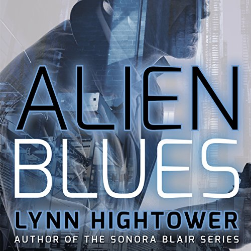 Alien Blues audiobook cover art