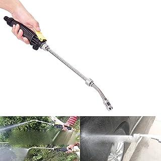 高圧洗浄機スプレーガン、19インチジェットウォッシュウォーターガンウォッシャーワンドガーデンホーススプレーノズルスプリンクラークリーニングツール洗車用、ガーデン散水、窓拭き(19インチ)