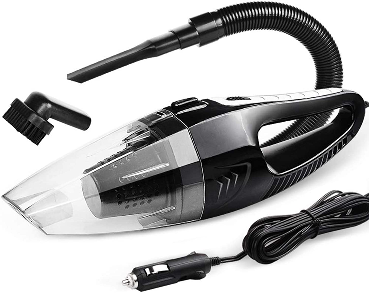 Car Vacuum Cleaner Power 12V car Interior Vacuum Suction Power high Power Wet and Dry,B